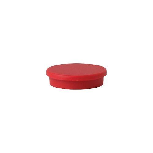 Niceday Whiteboard Magnete Rot 3 x 3 cm 10 Stück