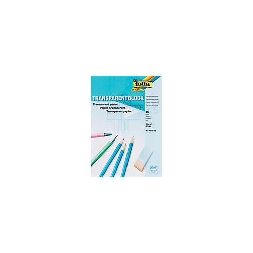Folia Transparentpapier DIN A4 80 g/m² 210 x 297 mm Transparent 25 Blatt
