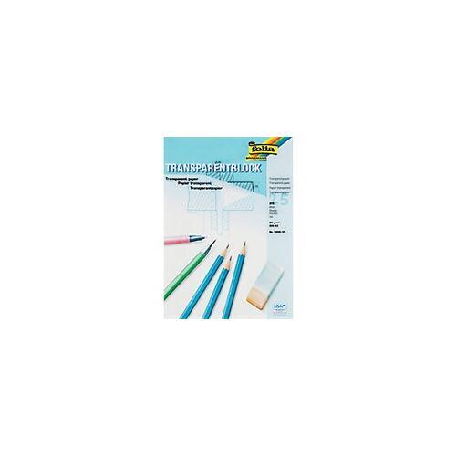 Folia Transparentpapier DIN A3 80 g/m² 297 x 420 mm Transparent 25 Blatt