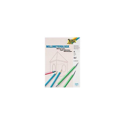 Folia Millimeterpapier DIN A3 80 g/m² 297 x 420 mm Weiß 25 Blatt