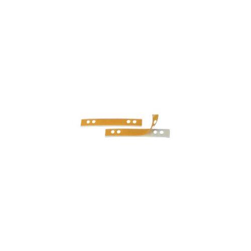 Veloflex Lochverstärkungsstreifen Kunststoff Gelb, Weiß 50 Stück