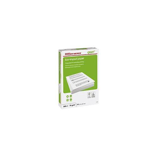 Office Depot Eco-Impact Kopier-/ Druckerpapier DIN A4 70 g/m² Weiß 500 Blatt