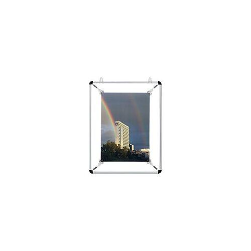Franken Spannrahmen DIN A4 Silber 31 x 39,7 cm