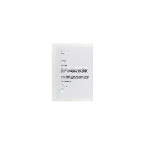 Office Depot Aufbewahrungstaschen DIN A4 Quer Transparent Polypropylen 5 Stück