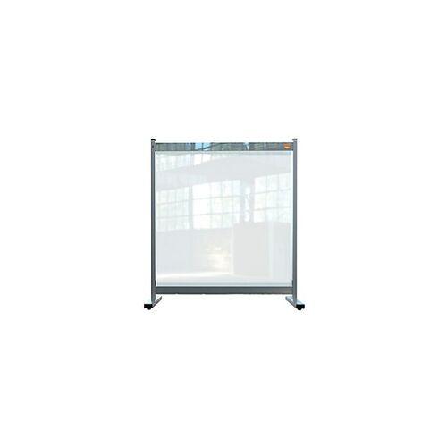 Nobo Schutzscheibe Premium Plus PVC Transparent 800 x 700 X 410 mm
