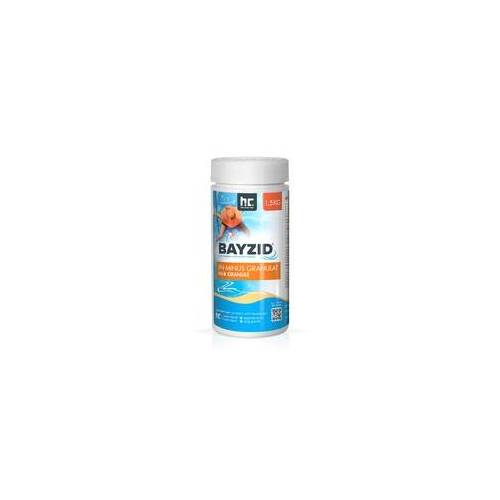 Höfer Chemie 6 x 1,5 kg BAYZID pH Minus Granulat für den Pool(9 kg)