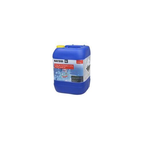 Höfer Chemie 4 x 25 kg BAYZID Chlor 13% flüssig für Pools(100 kg)
