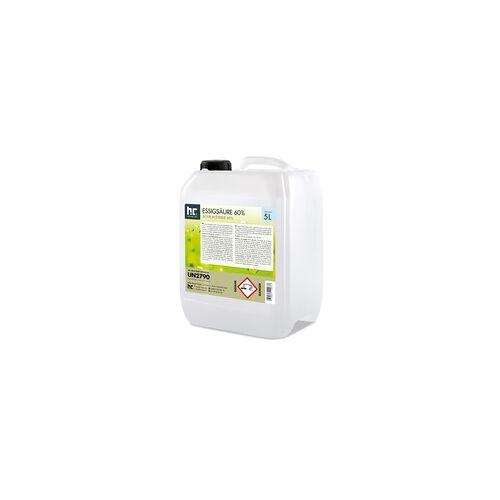 Höfer Chemie 2 x 5 Liter Essigsäure 60% in Kanistern(10 Liter)