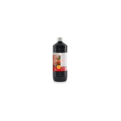 Höfer Chemie 6 x 1 Liter Grillanzünder flüssig für Grills und Feuerstellen(6 Liter)