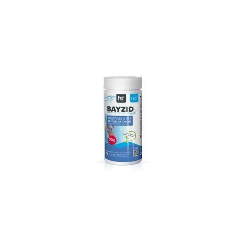 Höfer Chemie 12 x 1 kg BAYZID Multitabs 20g 5in1 für Pools(12 kg)