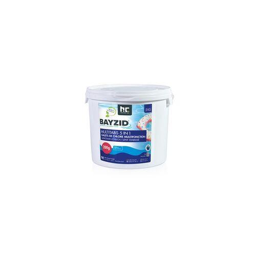 Höfer Chemie 4 x 5 kg BAYZID Multitabs 200g 5in1 für Pools(20 kg)