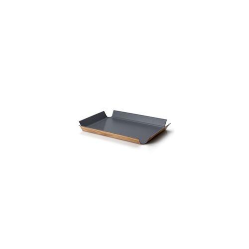 CONTINENTA rutschfestes Tablett 54,5 x 40 cm grau NEUHEIT