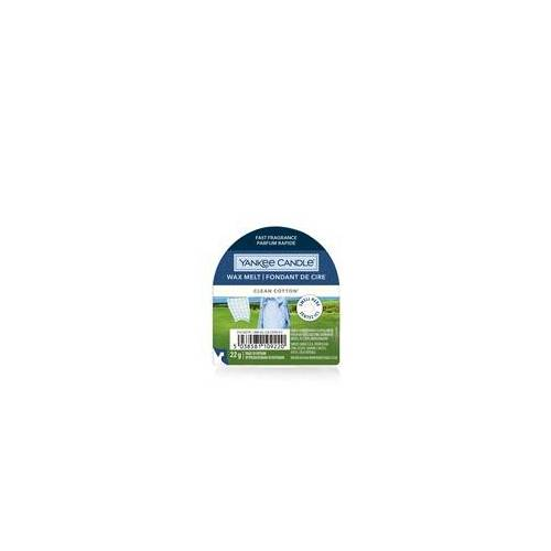 YANKEE CANDLE Wax Melt CLEAN COTTON 22 g Duftwachs