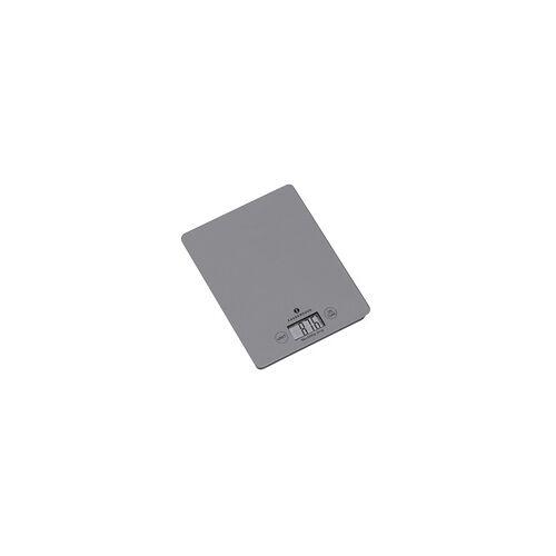 ZASSENHAUS Digitalwaage Küchenwaage BALANCE cool grey