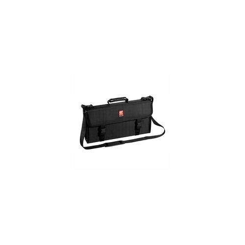 ZWILLING Messertasche mit Tragegurt 17 Fächer schwarz Kochtasche
