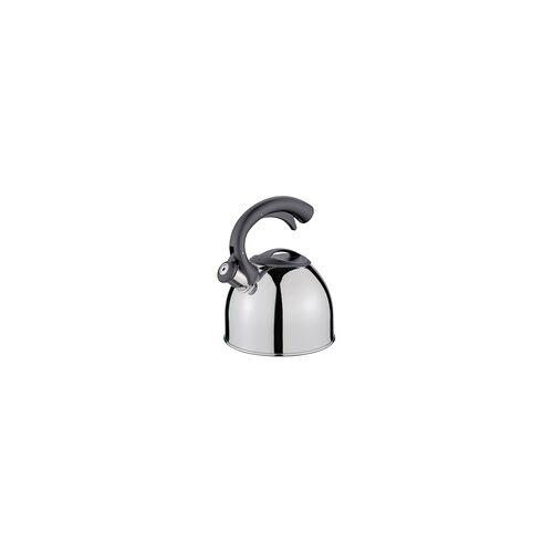 CILIO Wasserkessel COUNT mit Flöte Edelstahl 2,5 Liter Induktion