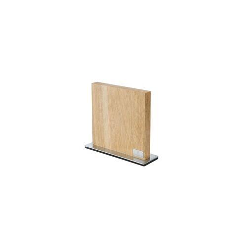 ZASSENHAUS Messerblock aus Eichenholz Magnet-Messerblock für bis zu 10 Messer