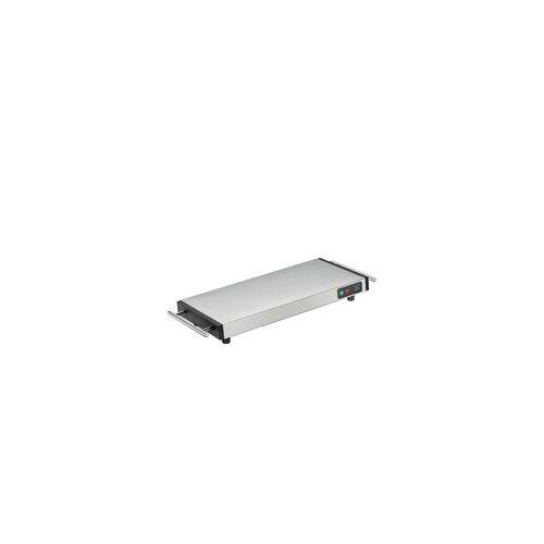 KÜCHENPROFI elektrischer Speisenwärmer / Warmhalteplatte STYLE aus Edelstahl