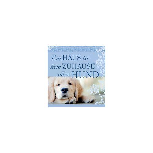 """H&H Romantisches Geschirrtuch """"Ein Haus... ohne Hund"""" Handtuch"""
