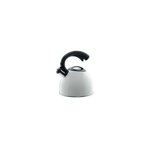 CILIO Wasserkessel COUNT mit Flöte weiß 2,5 Liter Induktion