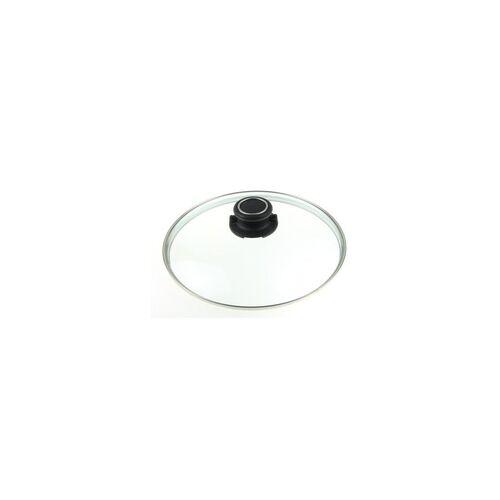 GASTROLUX Glasdeckel rund 24 cm für Pfannen und Töpfe
