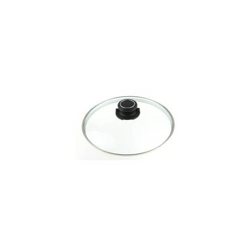 GASTROLUX Glasdeckel rund 32 cm für Pfannen und Töpfe