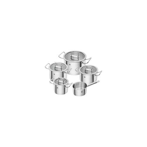 ZWILLING Serie PRO Topfset 5 teilig Edelstahl mit Glasdeckeln