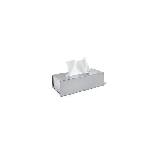 ZACK Kosmetiktücher-Box PURO Edelstahl mattiert Kosmetiktücherspender