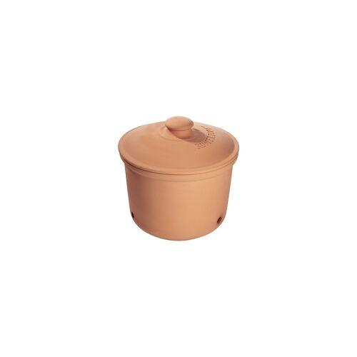 RÖMERTOPF Vorratstopf für Kartoffeln Kartoffeltopf aus Ton