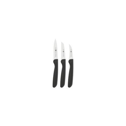 ZWILLING TWIN GRIP Messerset 3-teilig Schälmesser, Gemüsemesser, Spickmesser