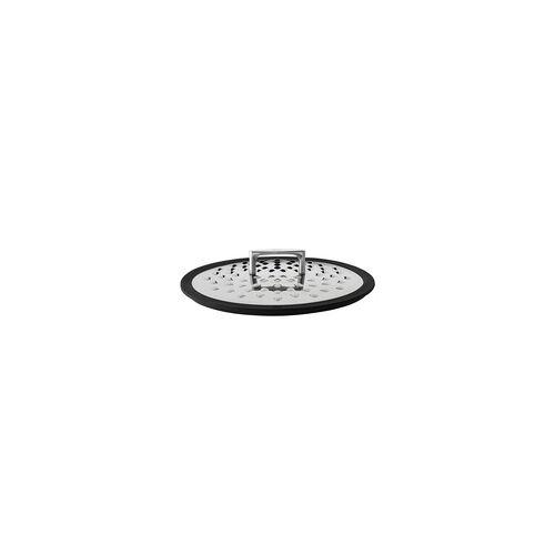 RÖSLE Serie SILENCE Spritzschutz 28 cm mit Silikoneinfassung Spritzschutzdeckel