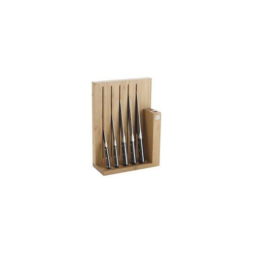 ZWILLING Pro Messerblock 6 teilig Bambus