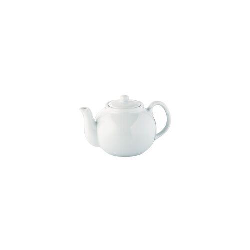 CILIO Porzellan Teekanne / Kaffeekanne 1,75 Liter weiß