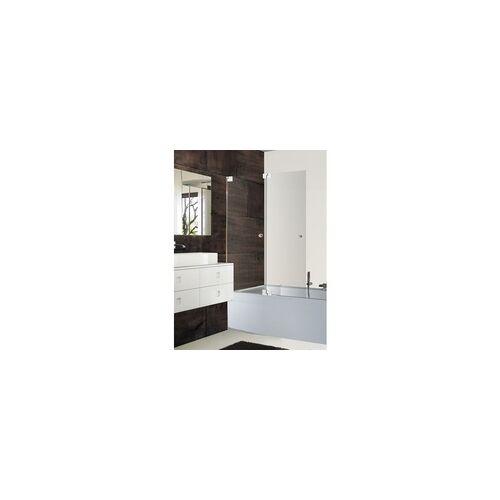 Sprinz Omega Plus 2-teilige Duschfalttür auf Badewannenrand mit SpriClean Veredelung