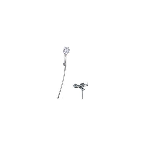 HSK Shower Set 1.09 rund mit Aufputz-Badewannen-Thermostat