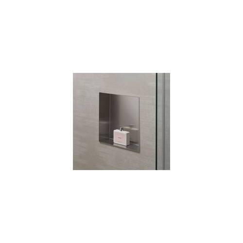 HSK Wandeinbaubox Set 30 × 30 × 10 cm… Schwarz (matt)
