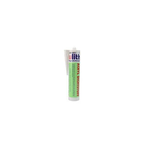 Ulith Acryl-Fugendichtmasse von ULITH - WEISS - Kartusche 300 ml (Packgröße: 20 Stk. im Karton)