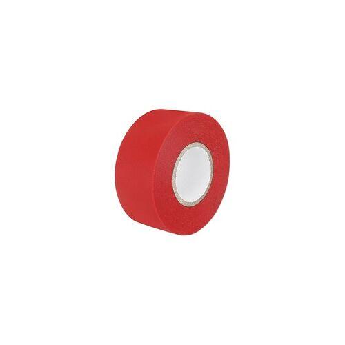 NMC PVC-Klebeband - rot - Breite 30 mm - Länge 33 m