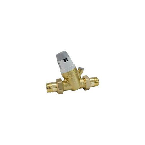 Caleffi Druckminderer 5350 von Caleffi - mit Verschraubungen 3/4'' AG - 1 bis 6 bar - 535050