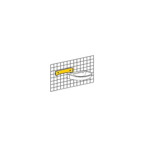 Evenes Handwaschbecken-Schallschutzset bis 550 mm, best. aus Schalldämmprofil 5 mm stark