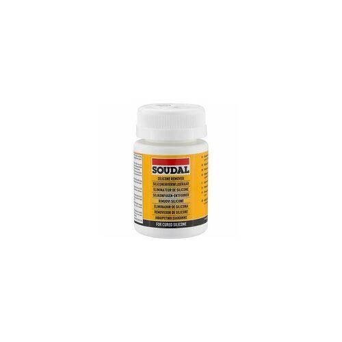 SOUDAL Silikonfugen-Entferner - Dose 100 ml mit Pinsel und Kunststoffspachtel - 102853