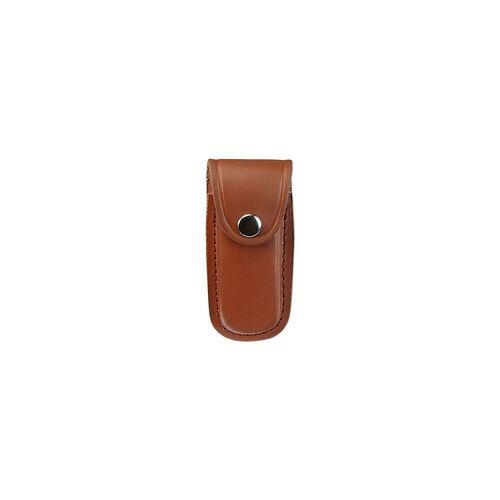HERBERTZ Lederetui für Taschenmesser - braun - 2690110