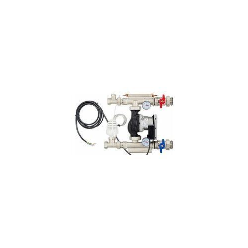 heima-press Kompakt-Regelstation / Festwertregelset für Fußbodenheizung - mit Pumpe Wilo Yonos Para RS25/6