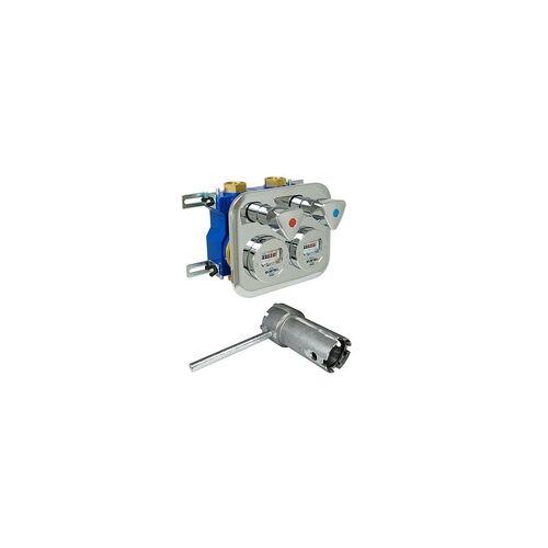 Zenner Wasserzähler-Montageblock ZENNER 2'' Komplett-Set 5-teilig - 10 % gespart