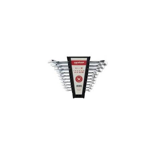 CAROLUS Ring-/Maulschlüssel-Satz Carolus 10-teilig 8-22 mm - 0900.0010