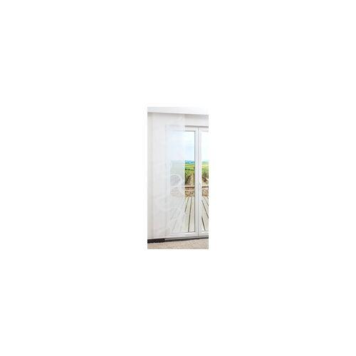 Lysel Schiebegardine von Lysel - Snake transparent in den Maßen 245 cm x 60 cm