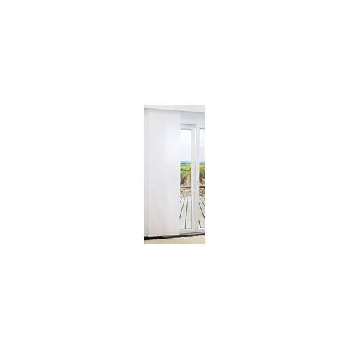 Lysel Schiebevorhang  von LYSEL - Plain lichtdurchlässig einfarbig in den Maßen 245 cm x 60 cm weiß/reinweiß