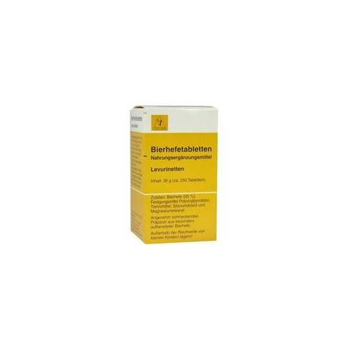 Teofarma Bierhefetabletten Levurinetten