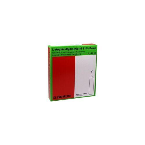 Braun L-Arginin-Hydrochlorid 21% Elek.-Konz.Inf.-Ls