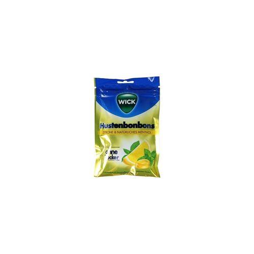 Candy WICK Zitrone & natürliches Menthol oZ Beutel